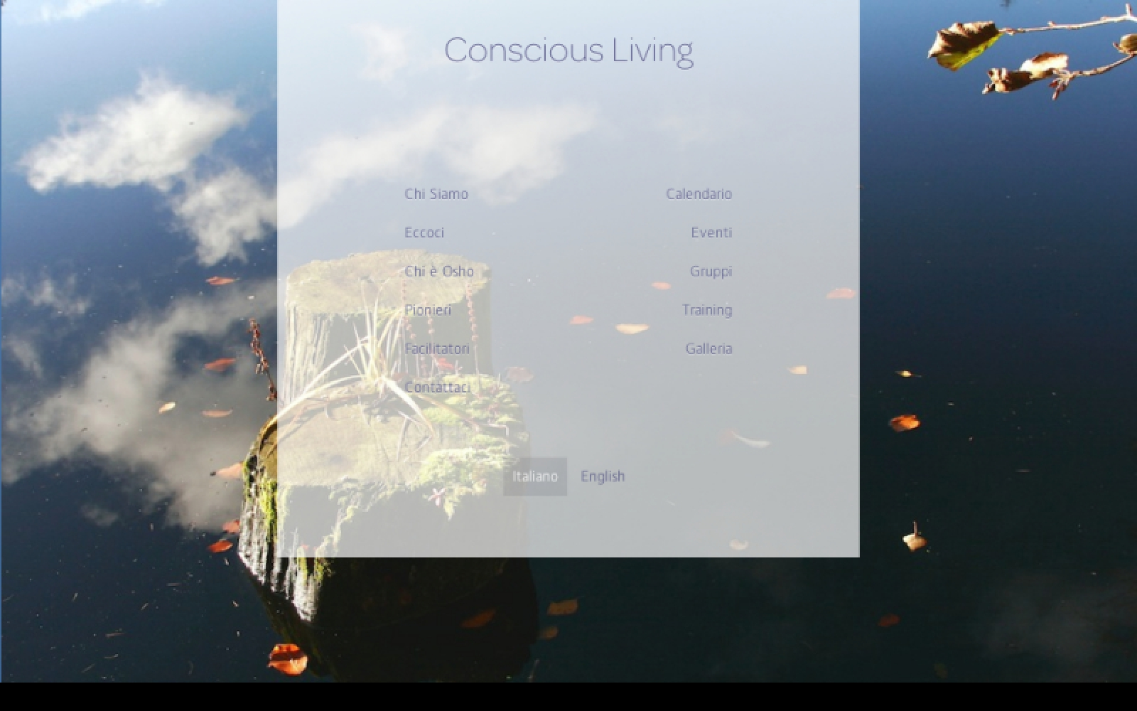 Conscious Living (home page)